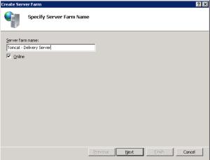 ARR Server Farm Name
